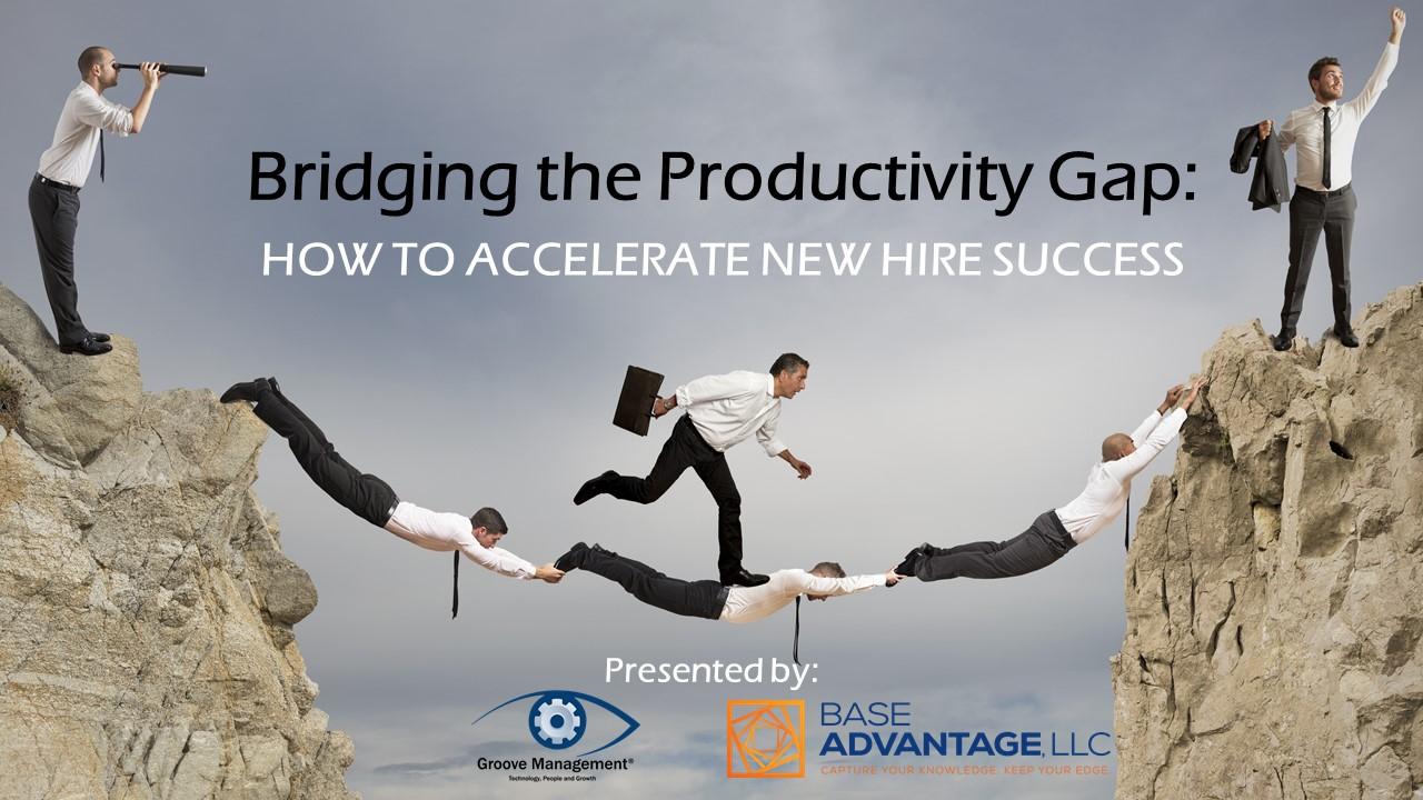 Bridging The Productivity Gap