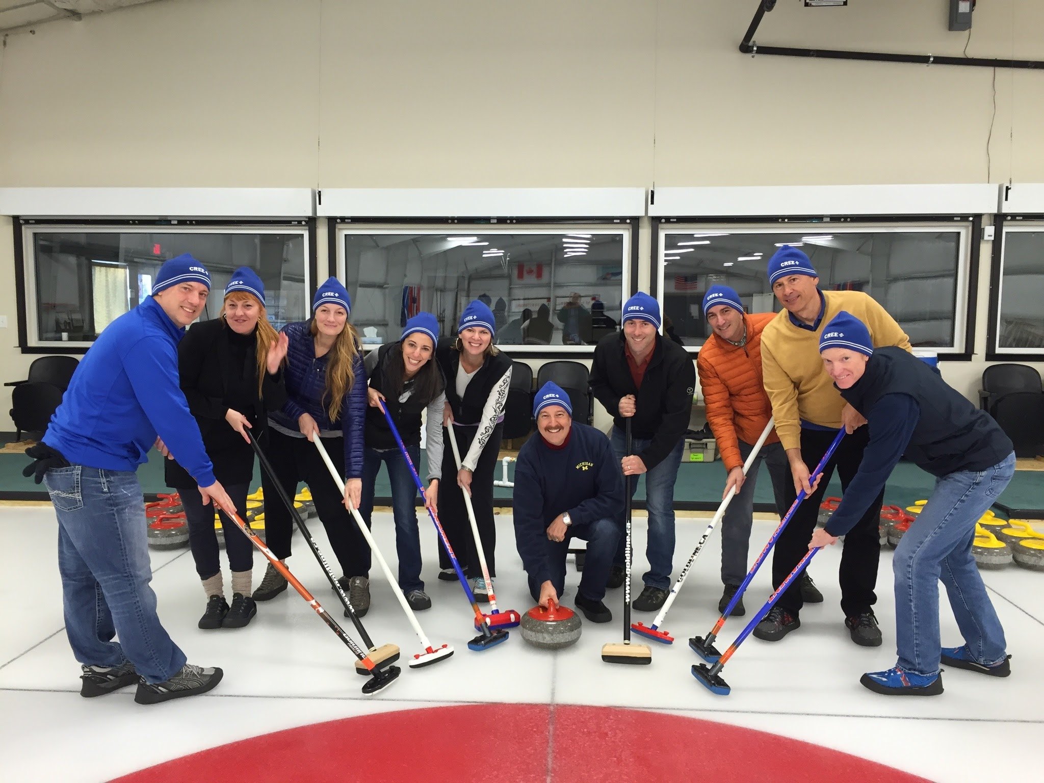 Curling Team Challenge