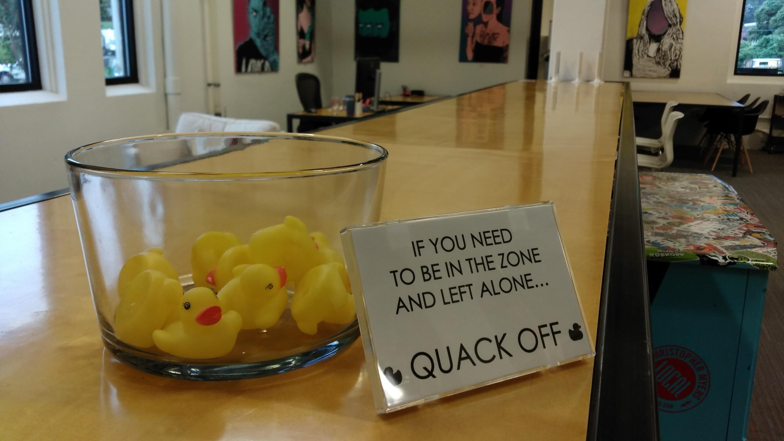 Quack Off
