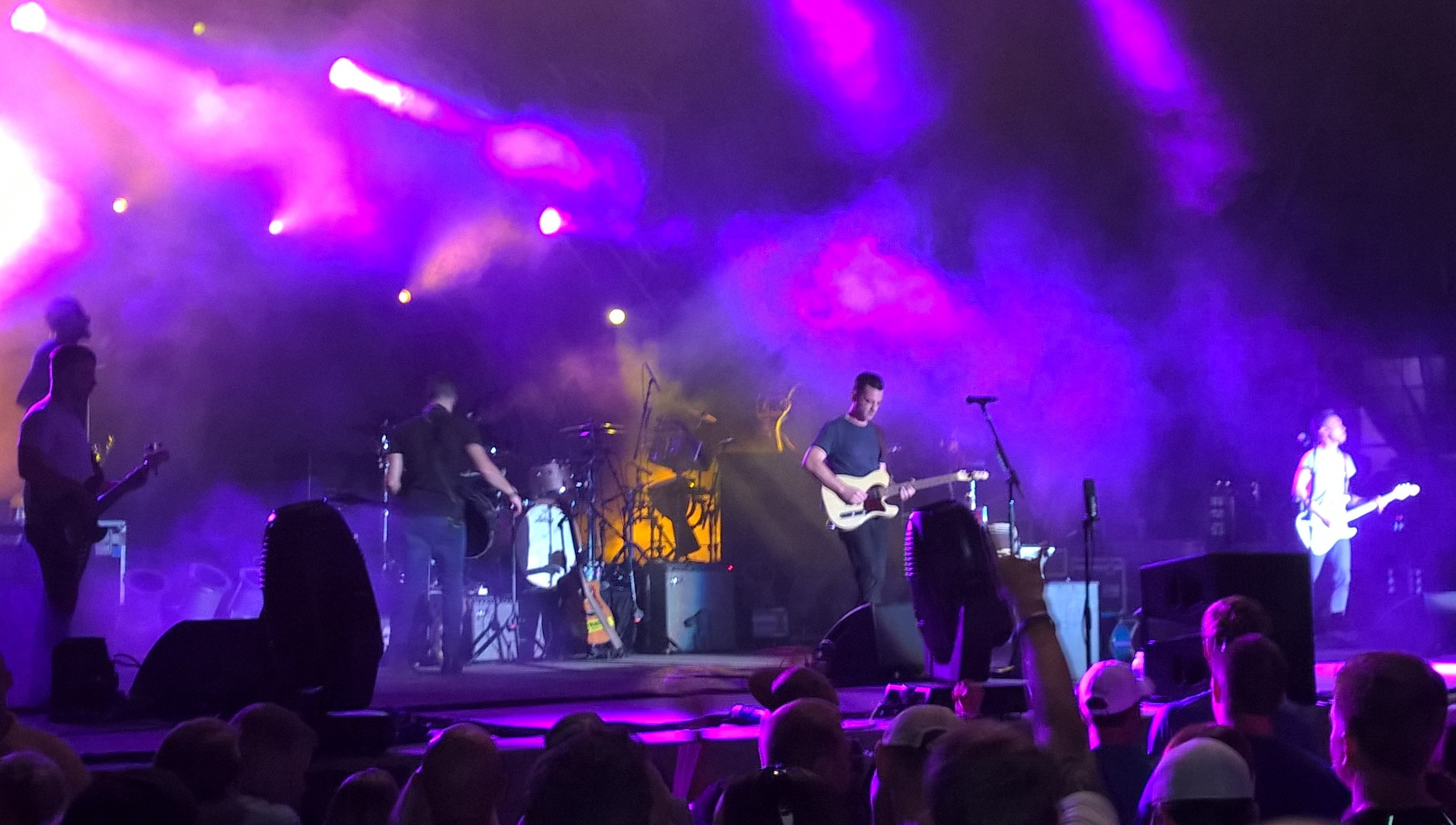 O.A.R. Charlotte Uptown Amphitheater 2015