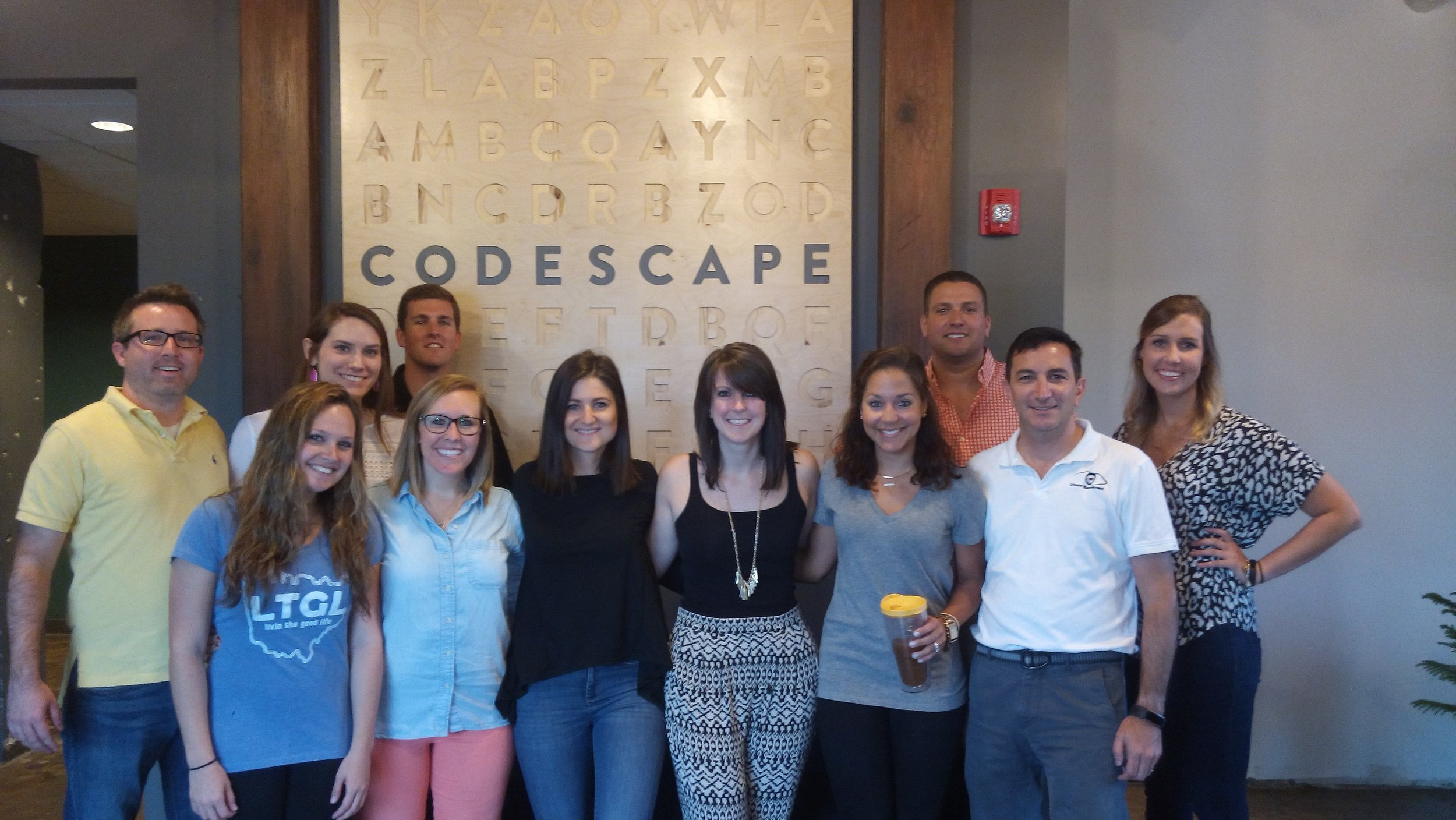 AccruePartners emerging leaders tackle Codescape