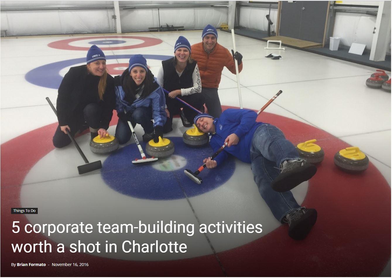 Curling Team Building