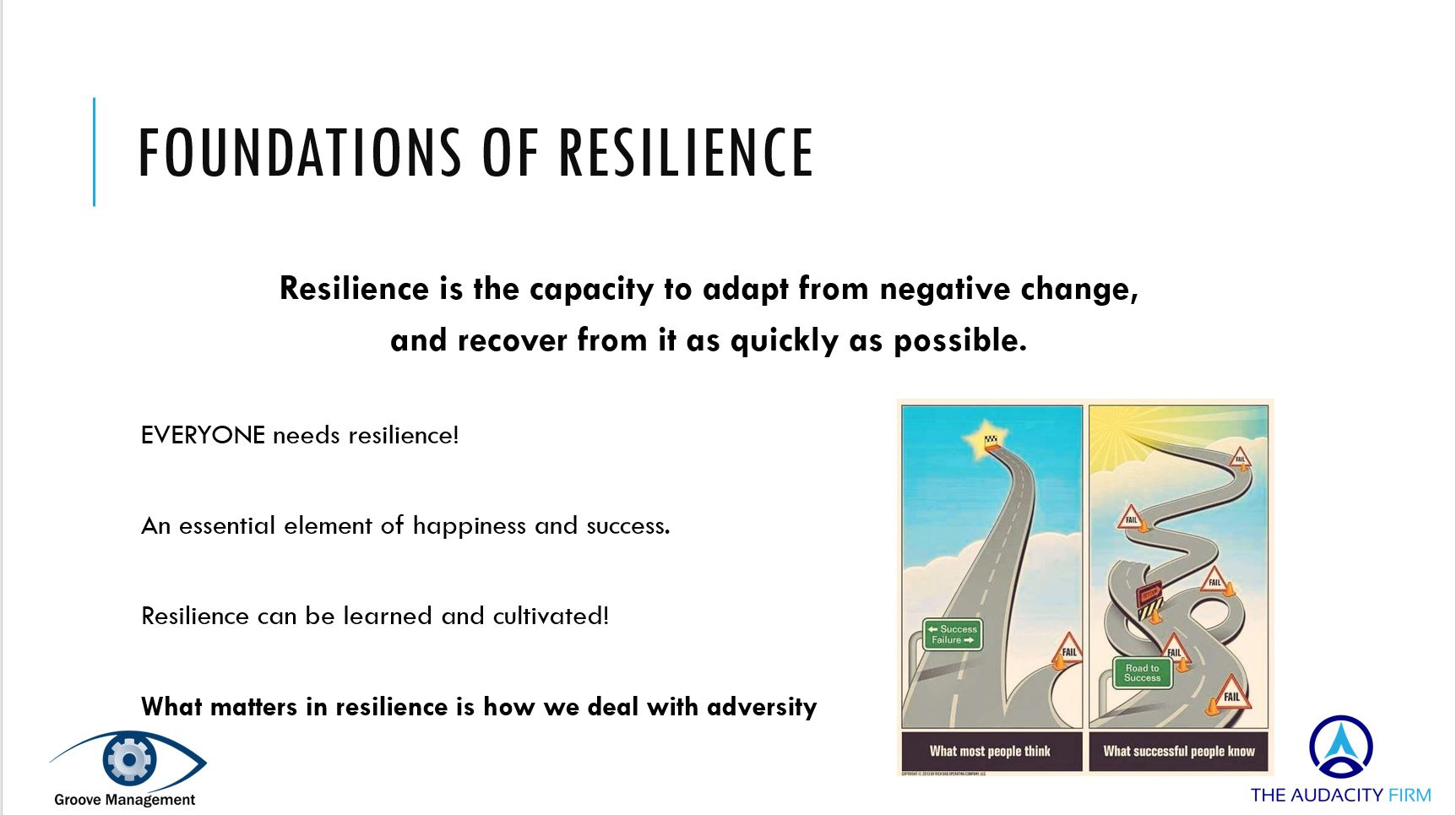 Foundations of Resilience
