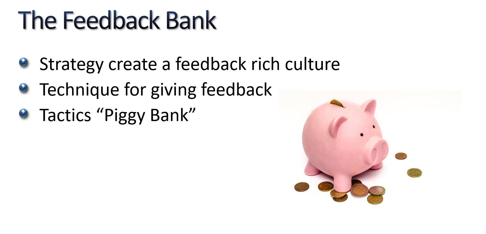 Feedback Bank
