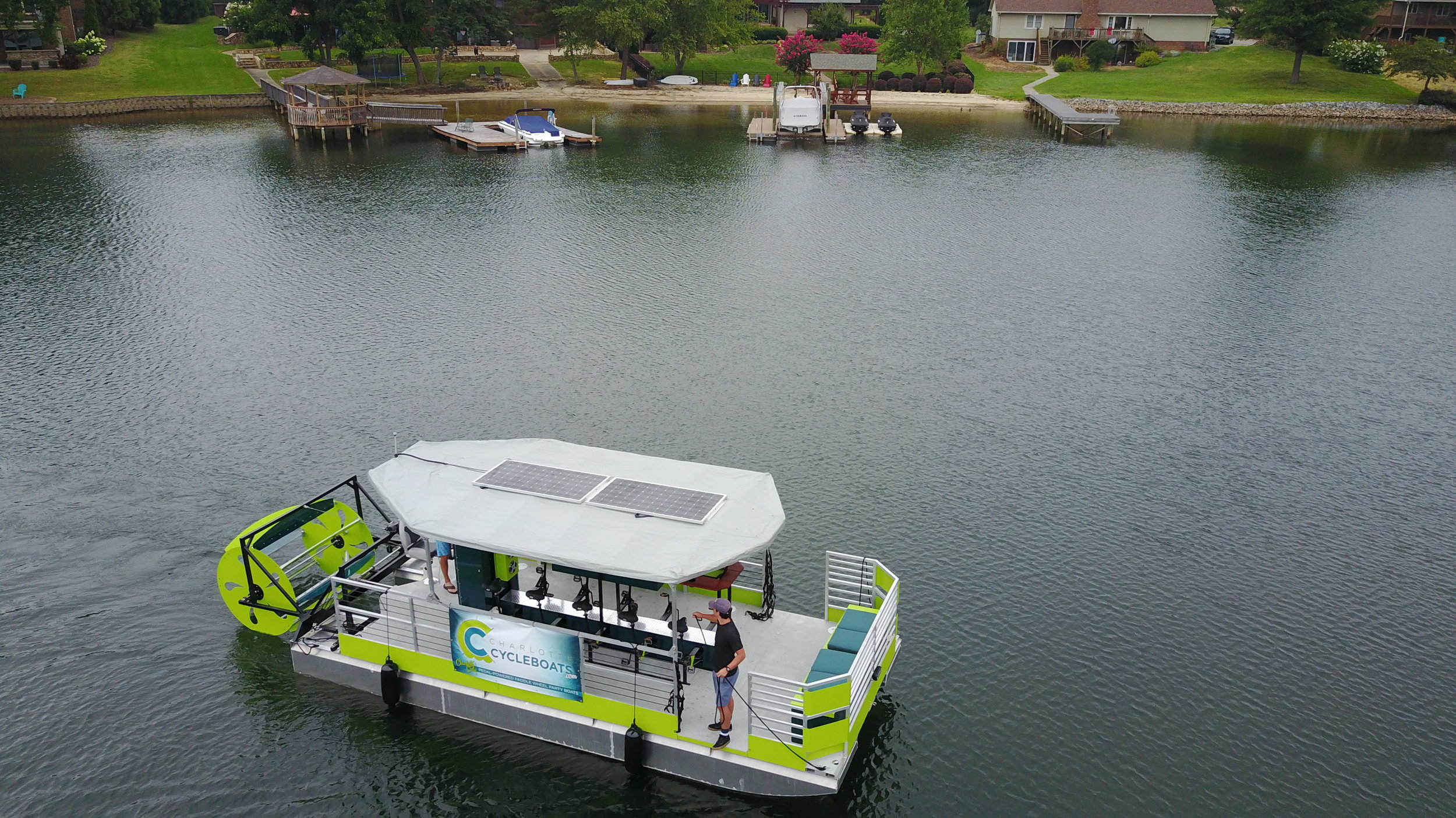 Charlotte Cycleboats  with Groove Management