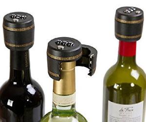 Wine or Liquor Bottle Lock Groove Management