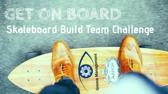 GET ON BOARD SKATEBOARD TEAM CHALLENGE — Groove Management