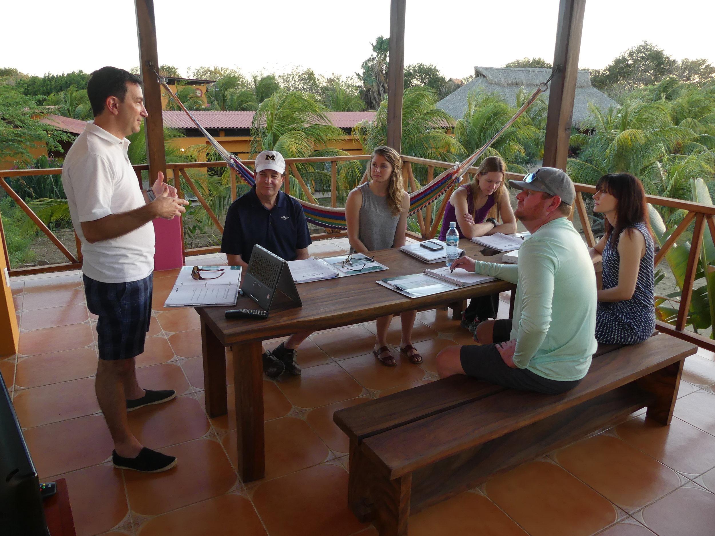 Outdoor Class in Nicaragua