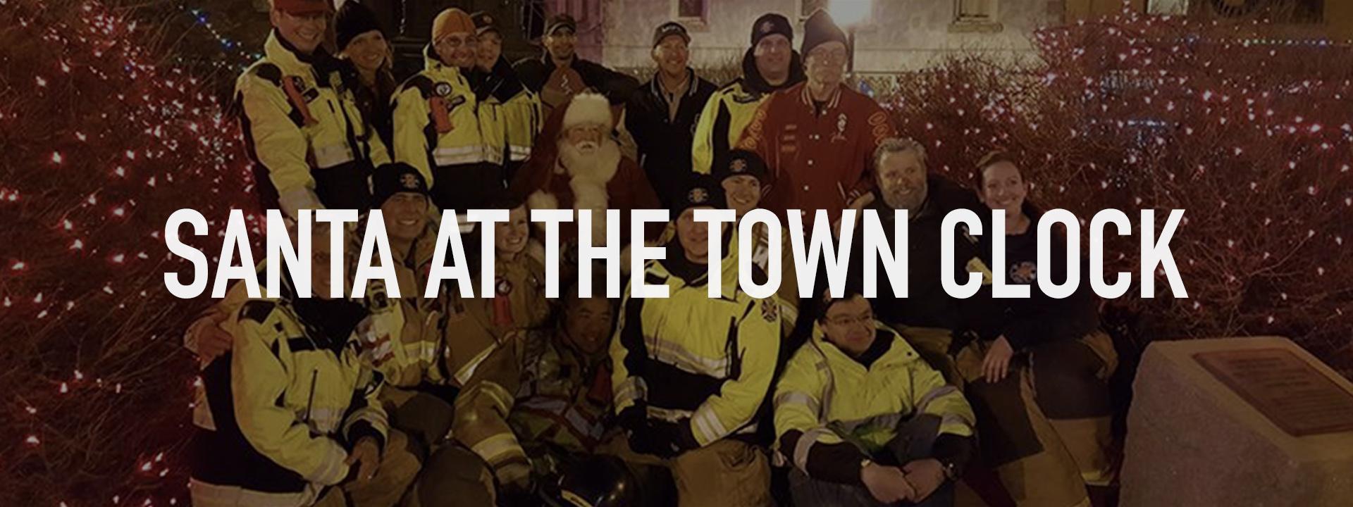 Santa at the Town Clock- banner.jpg