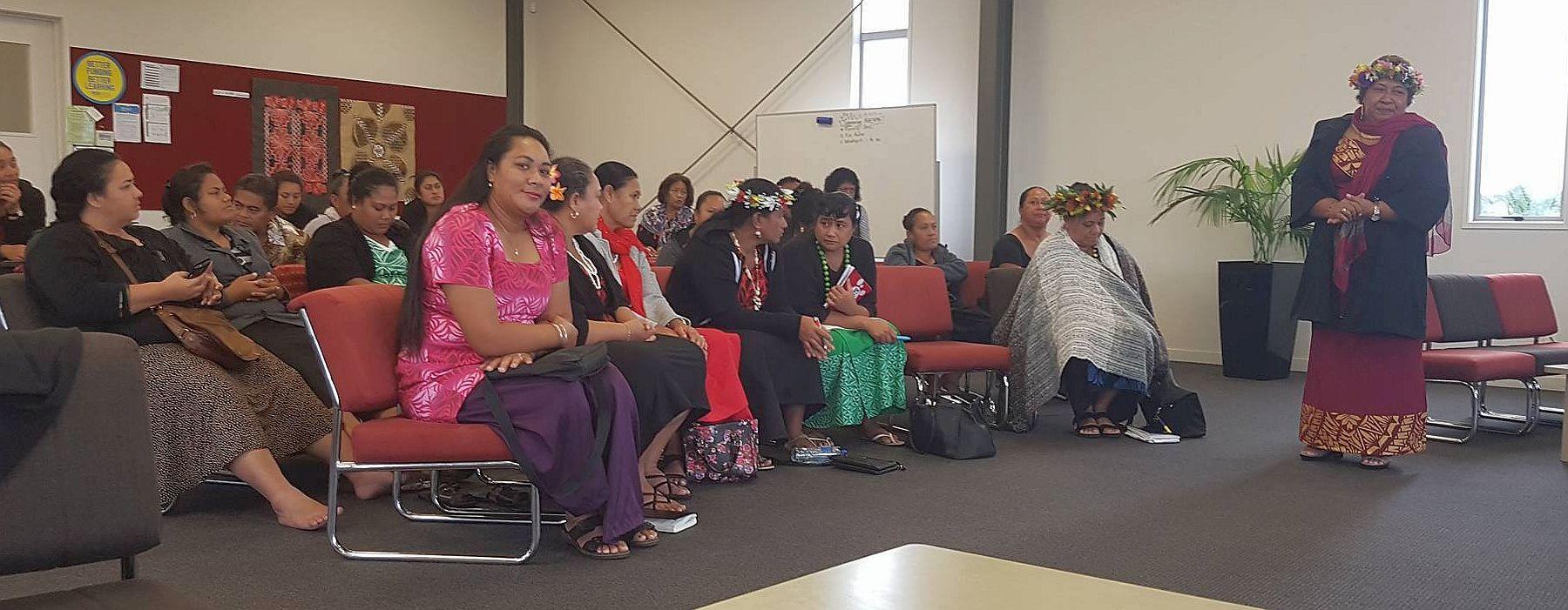 Co-principals and teachers from Samoa Primary School visiting Kia Aroha College.