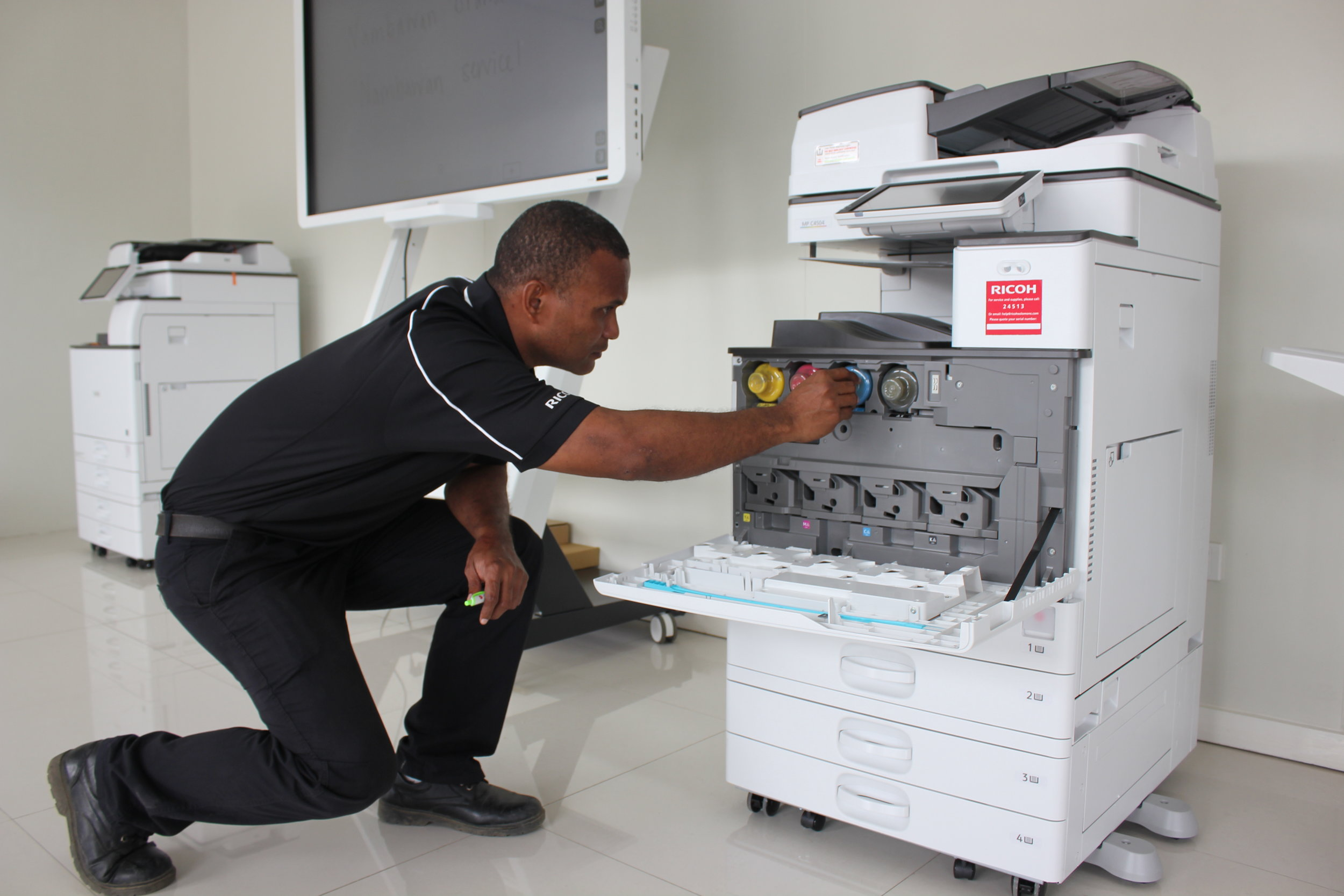 Don't tolerate bad service! Choose Ricoh South Pacific for trusted technicians who know what they're doing, with a range of support plans for every organisation and budget.