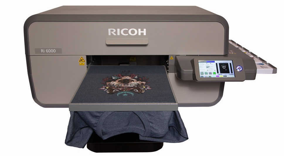 graphic relating to Printable Printers named Ricoh South Pacific DTG Printing