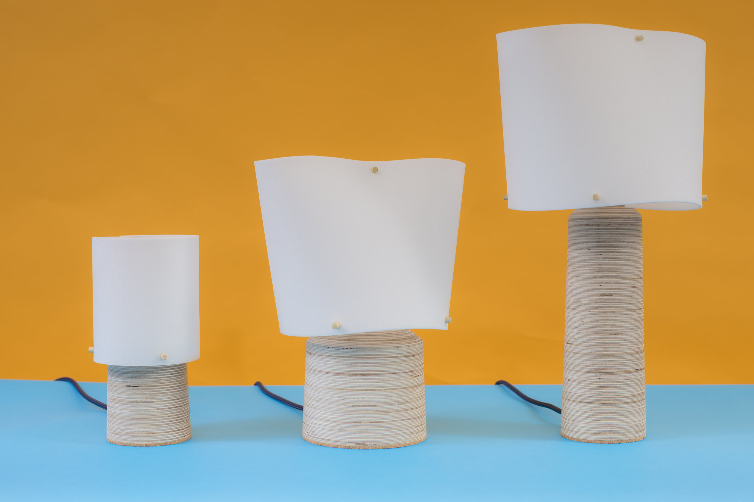 The Hands Collection Table Lamps (Image 1)