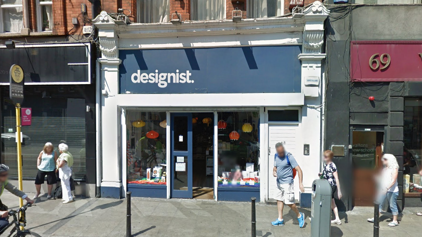 Designist according to Google Streetview