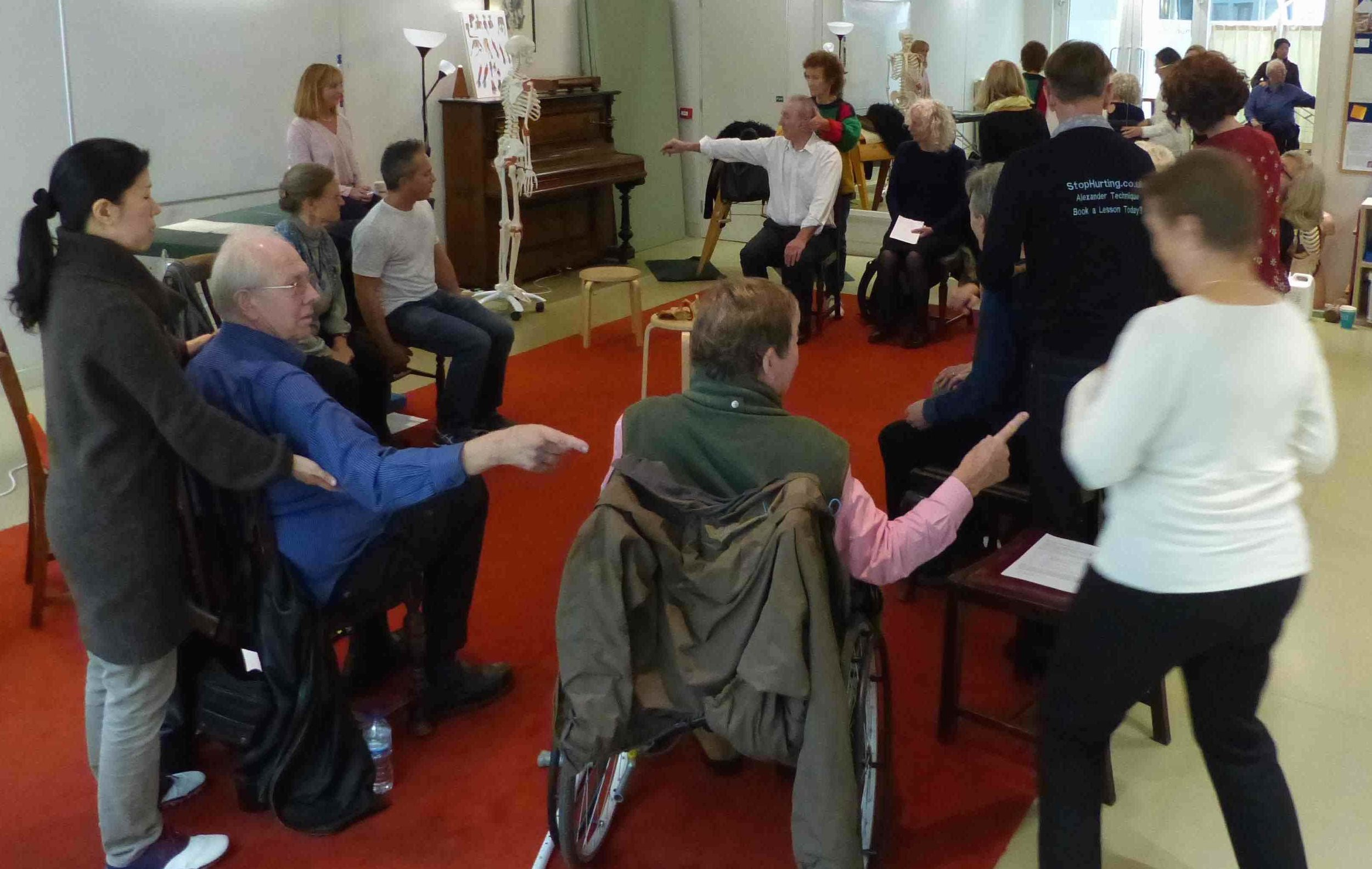 AT workshop led by Monika Gross at the Constructive Teaching Centre in London, October 2016