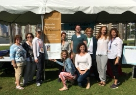 The Poise Project Parkinson's Foundation Moving Day® LA teacher team, October 2017  See more photos from our Poise TuneUP! stations at Moving Day's across the country at this  LINK