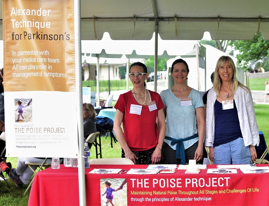The Poise Project Parkinson's Foundation Moving Day® DC teacher team, June 2018  See more photos from our Poise TuneUP! stations at Moving Day's across the country at this  LINK