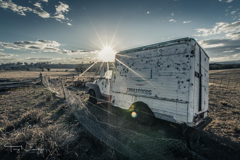 Caper tee Valley old truck.jpg