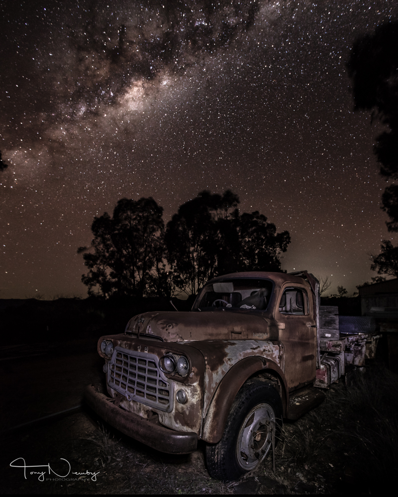 Old Dodge truck with milky way.jpg