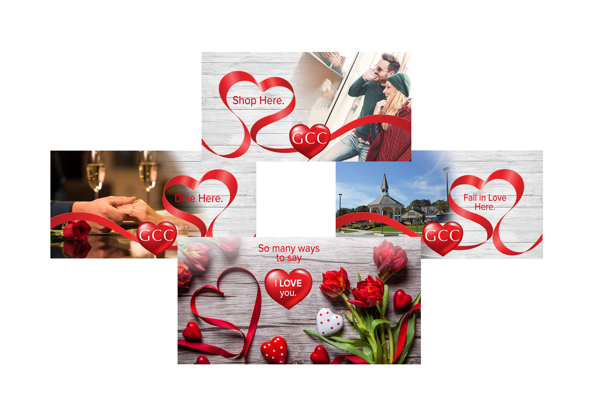 Garden City Center Facebook Carousel Ads