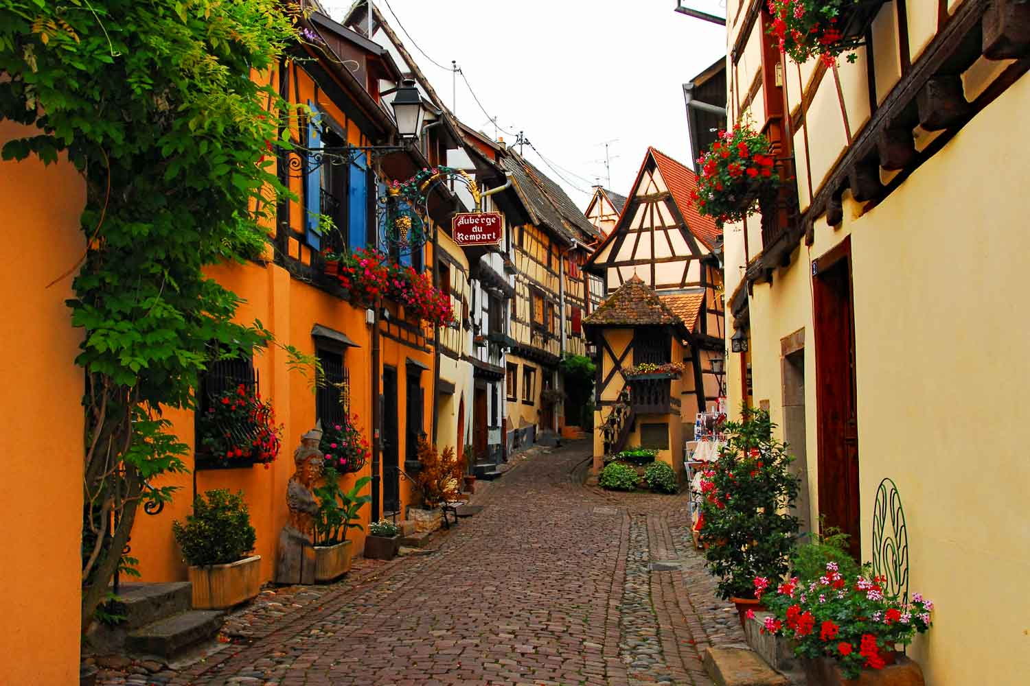 MOST BEAUTIFUL VILLAGES OF FRANCE: ALSACE - DISCOVER THIS CYCLING AND