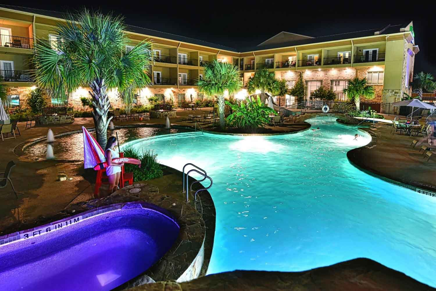 Holiday Inn Express Hotel and Suites - Fredericksburg, Texas (Five Nights)Top-Ranked Hotel located directly in Fredericksburg.