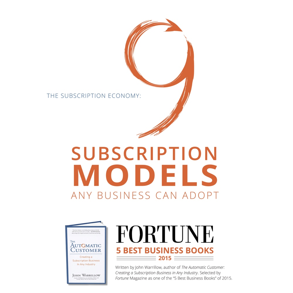 9 SUBSCRIPTION MODELS ANY BUSINESS CAN ADOPT
