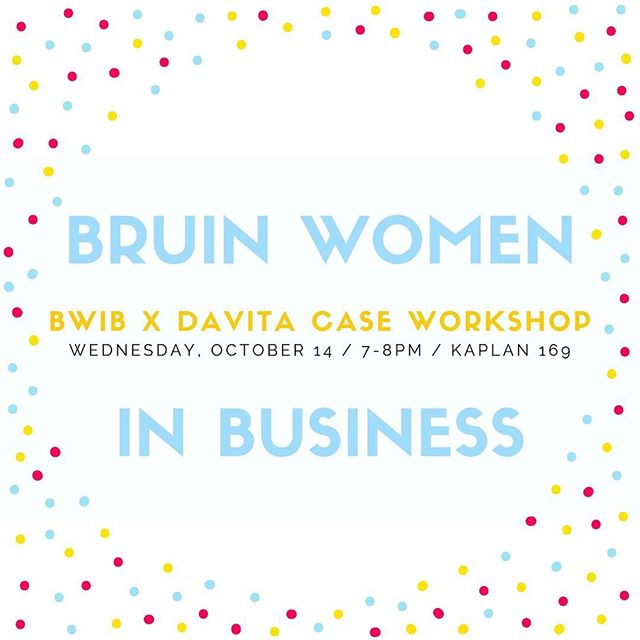 Come out THIS WEDNESDAY to learn from DaVita how to problem-solve a business case (& for some free Jimmy Johns too!)⭐️