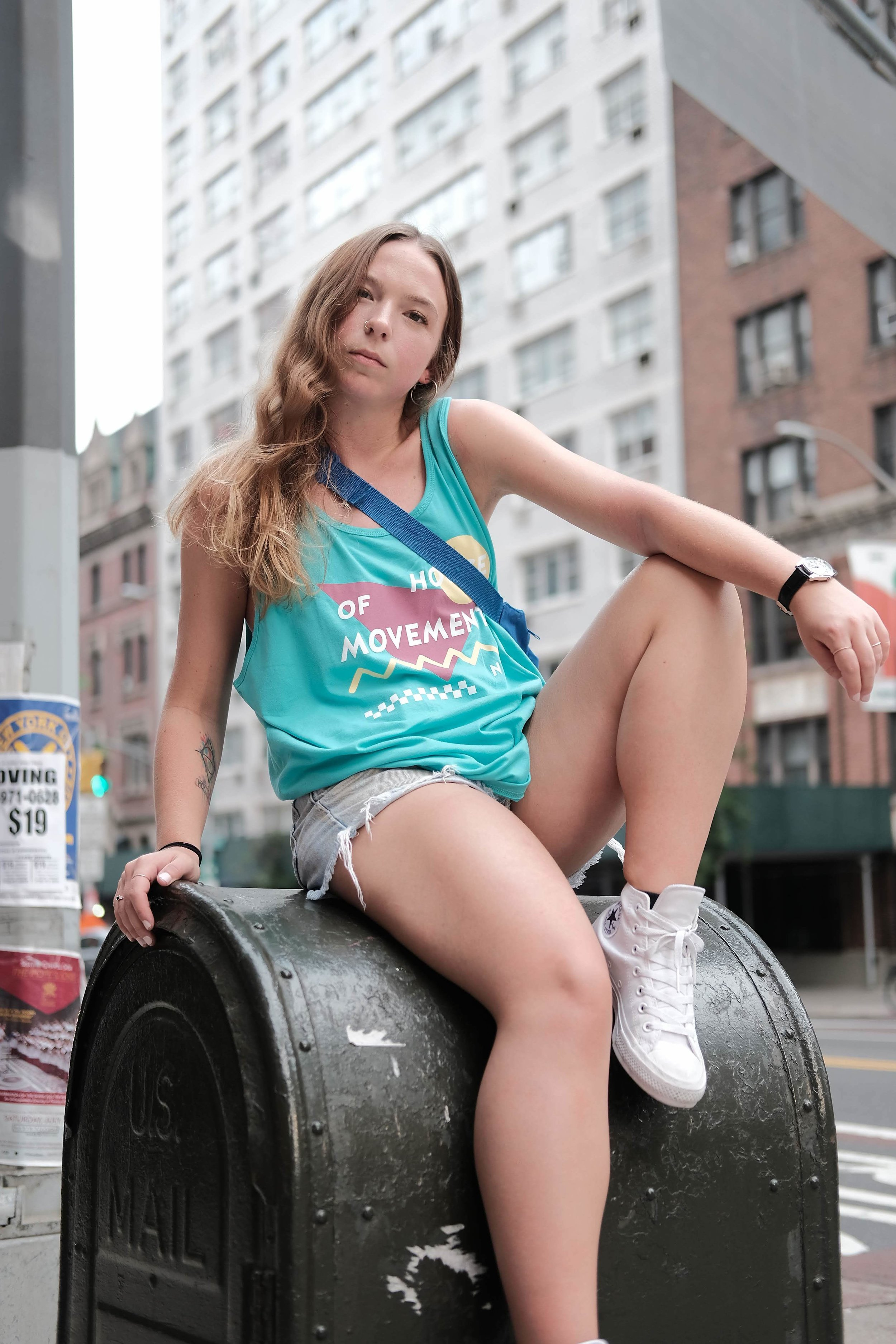 HoM x FoF '90s Ice Cream' Tank (Green) - We are throwing it back to the 90s with this Summer '18 Collection x Collaboration with Friend of a Friend Studios! Block Party Tanks are available in Green and Neon Pink. Printed in New York City.Available in S, M, L, XL100% CottonShipping Available.