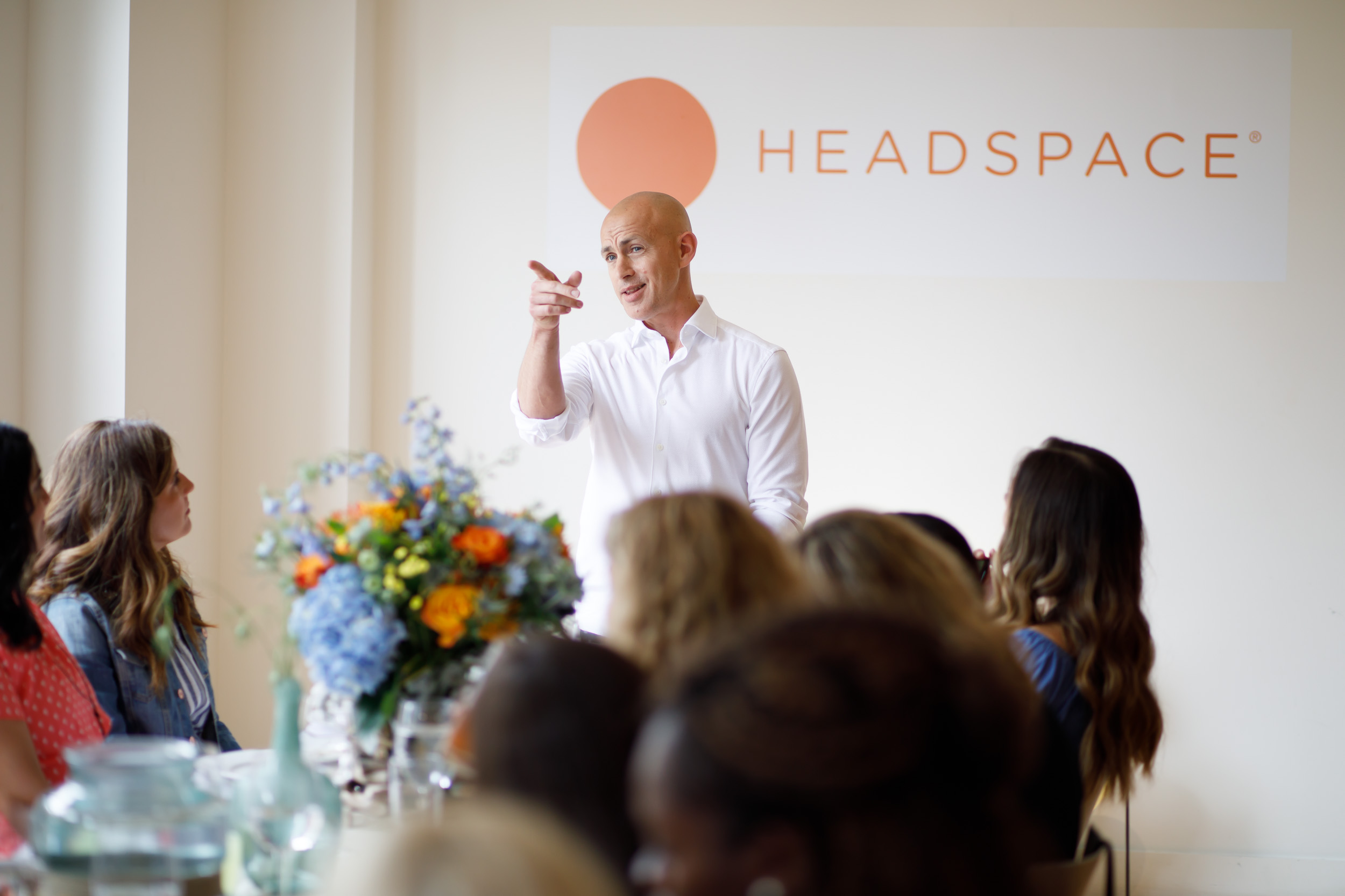 Andy Puddicombe Co-Founder  Headspace