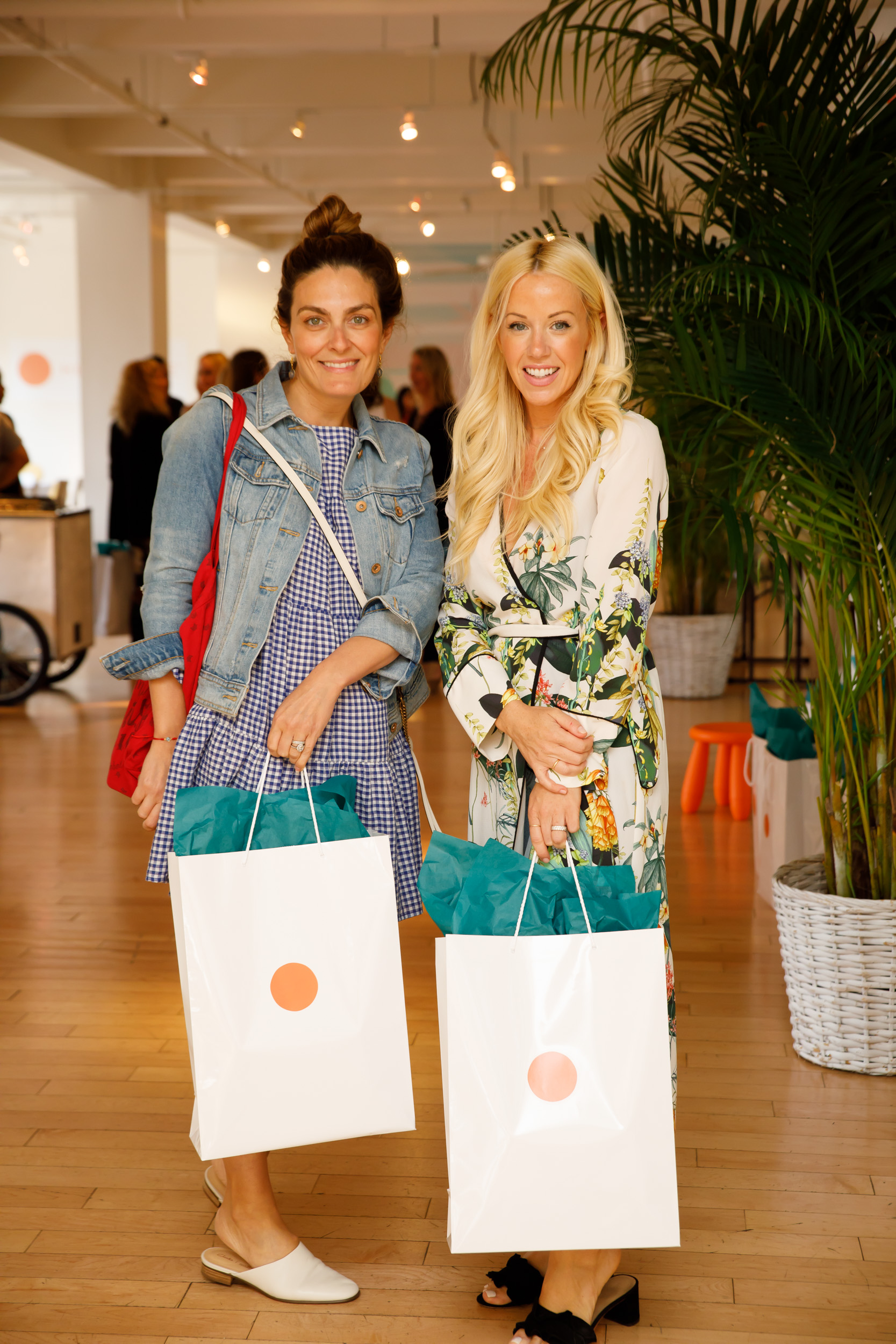 We all left with amazing gift bags with perfect summer beach towels, perfect headphones to zone out with  Headspace  and much more
