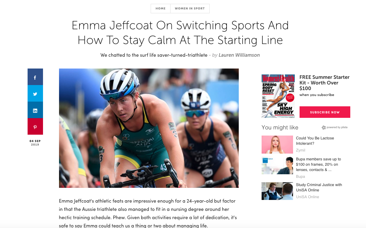 emma jeffcoat womens health