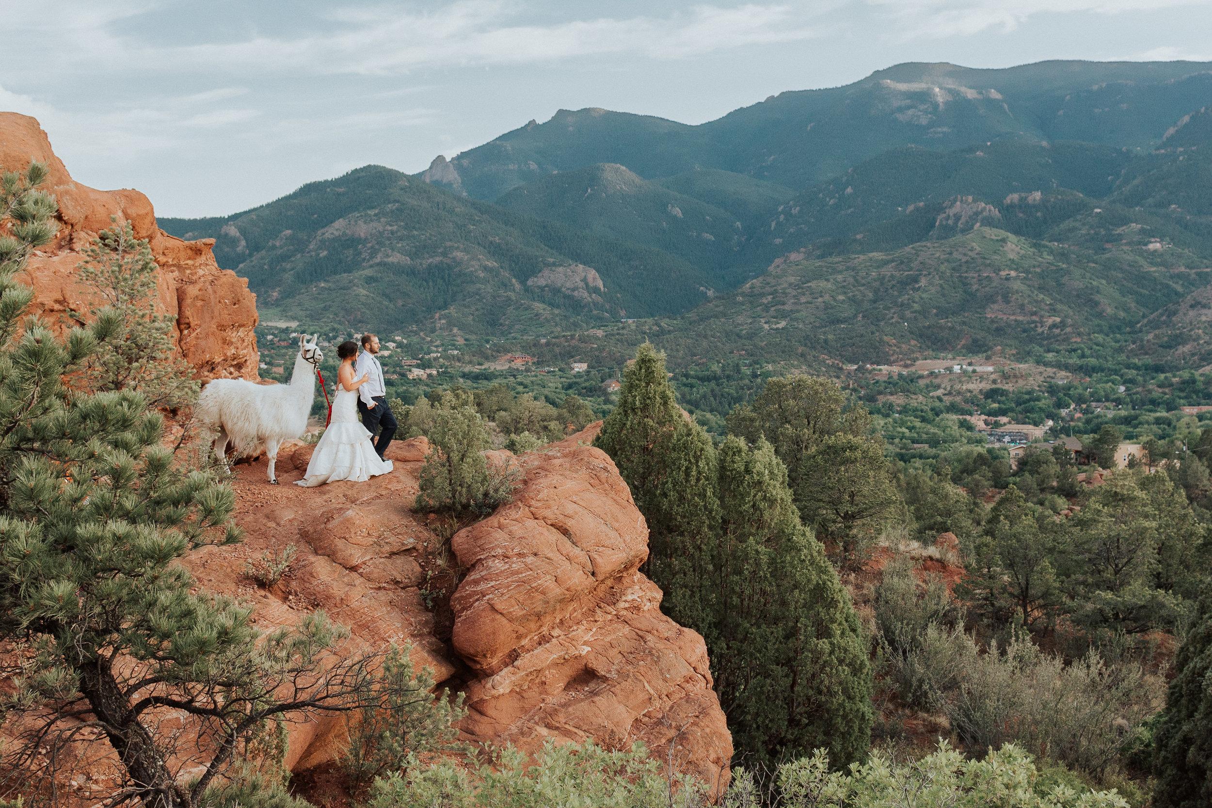 Mountain Wedding Photograph