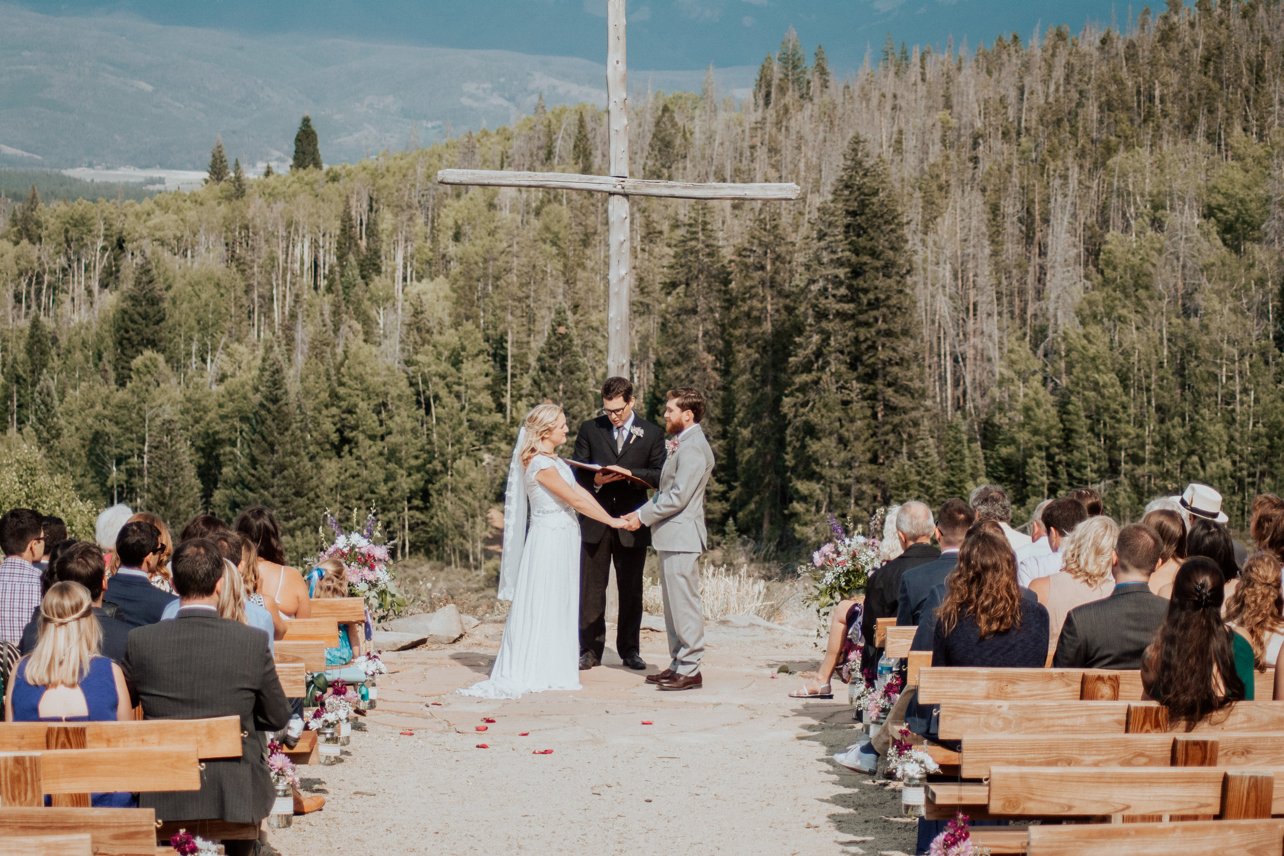 wedding at columbine point