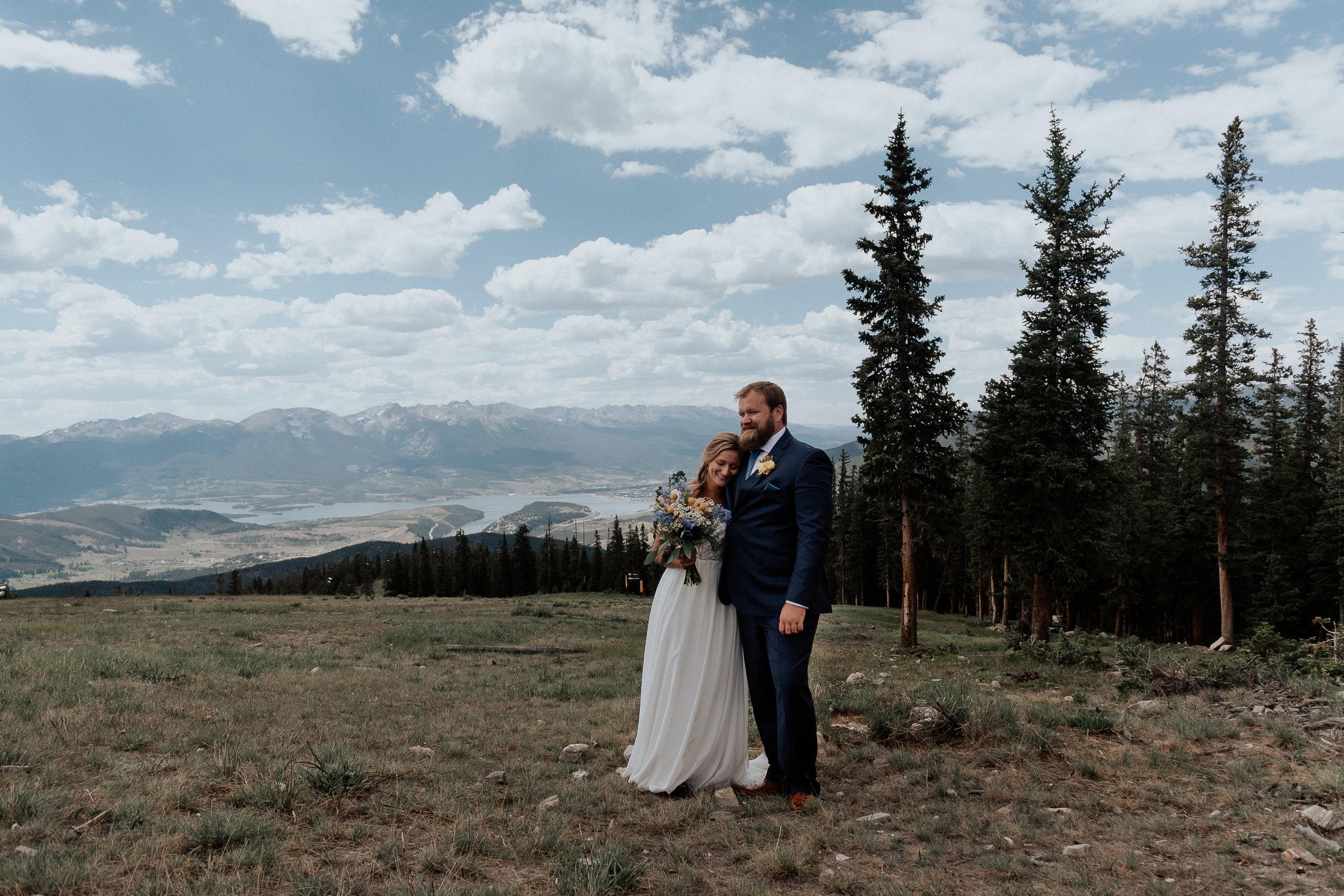 Keystone Mountaintop Wedding