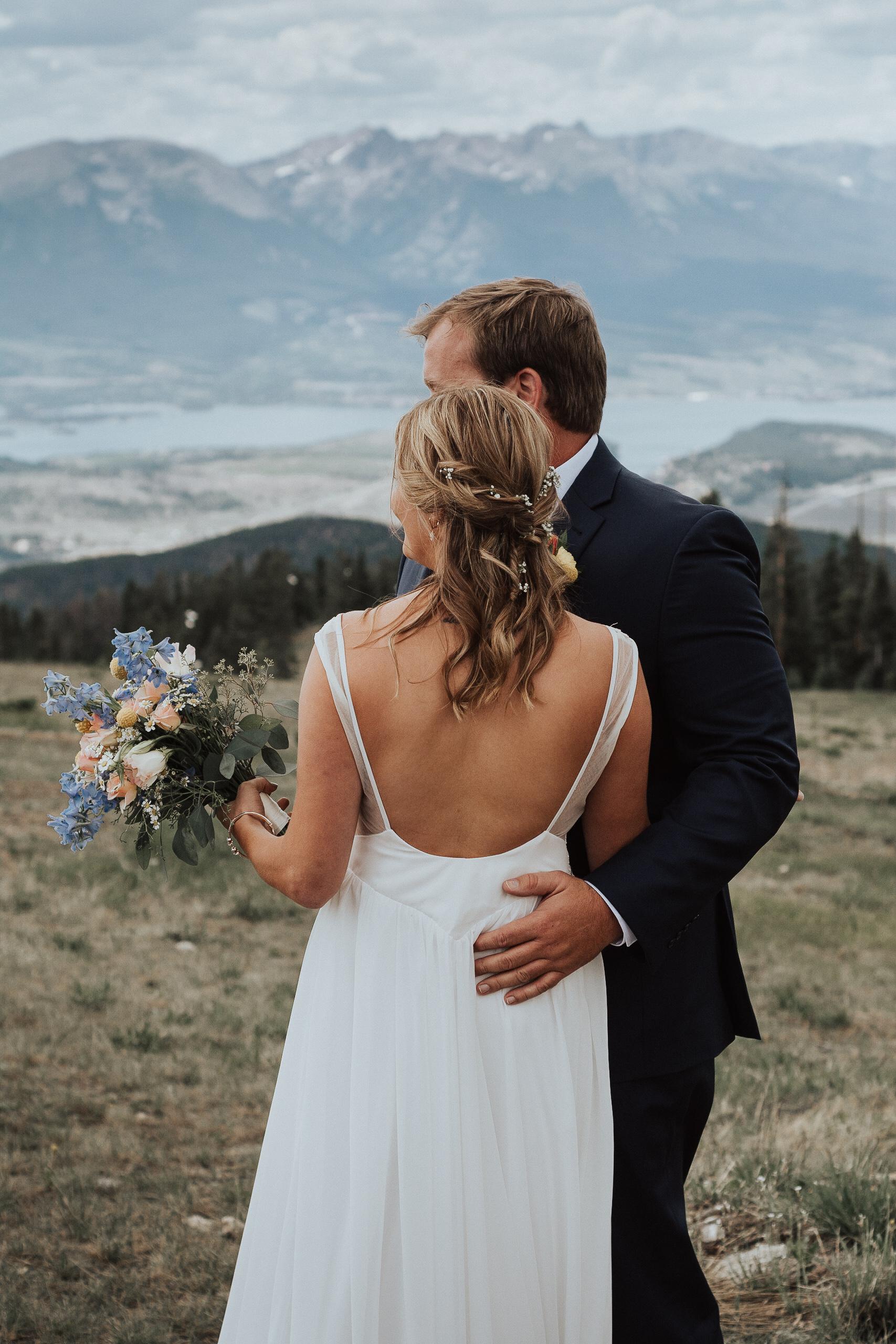 Mountain Wedding View