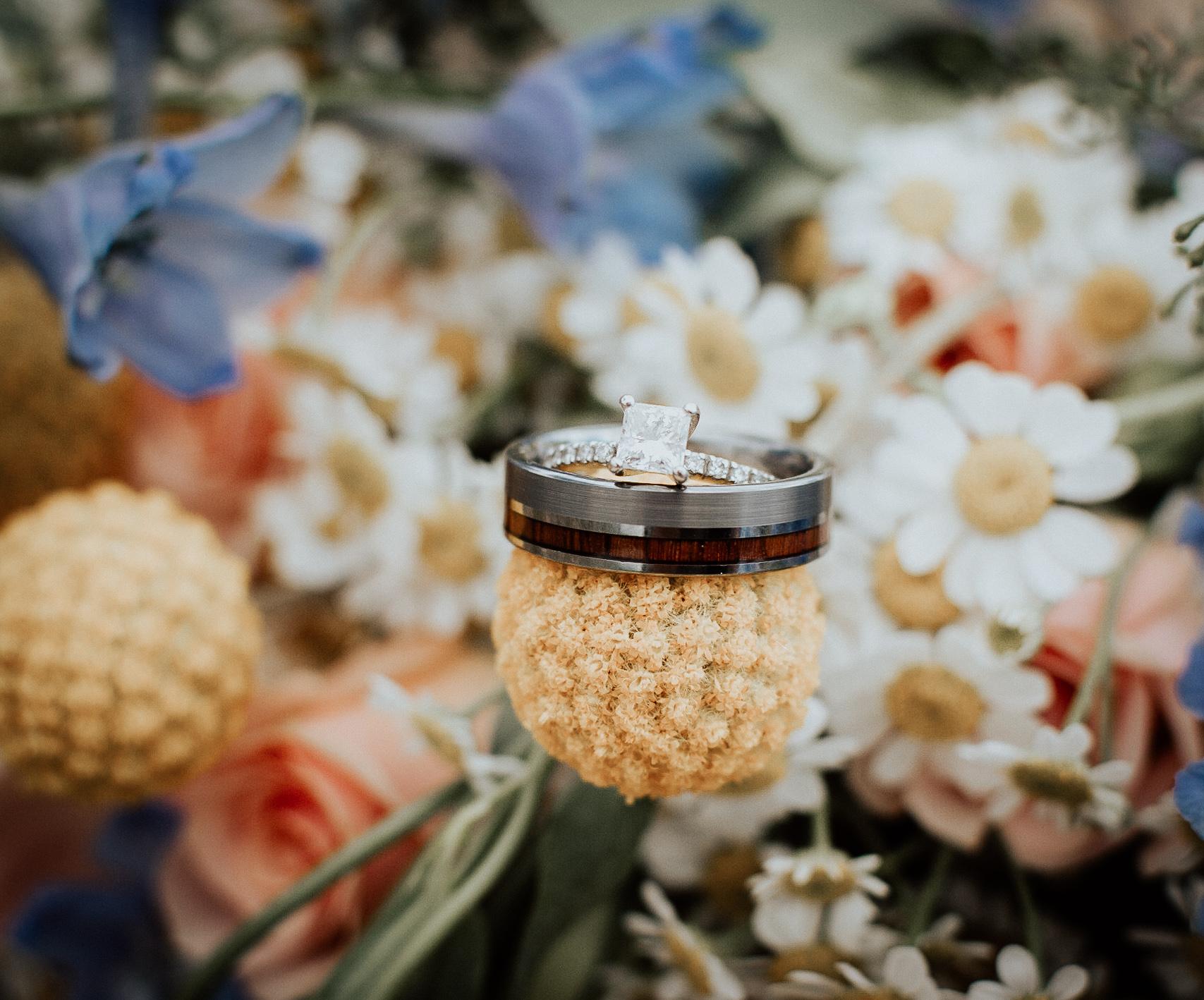 Rings + Wildflowers
