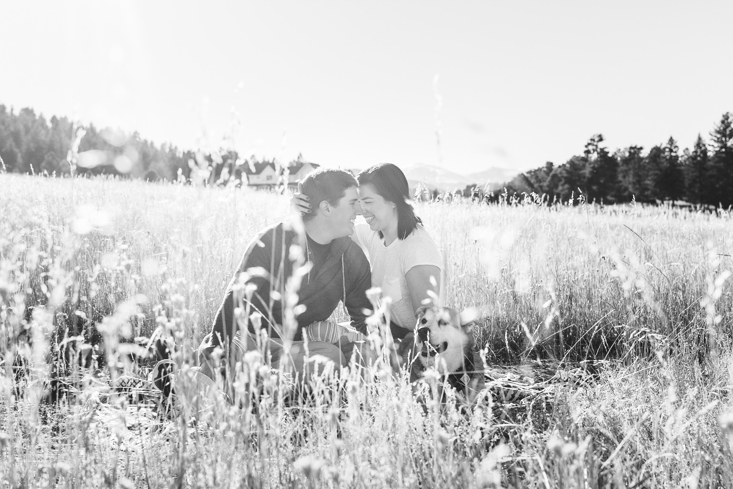 black and white couples photograph