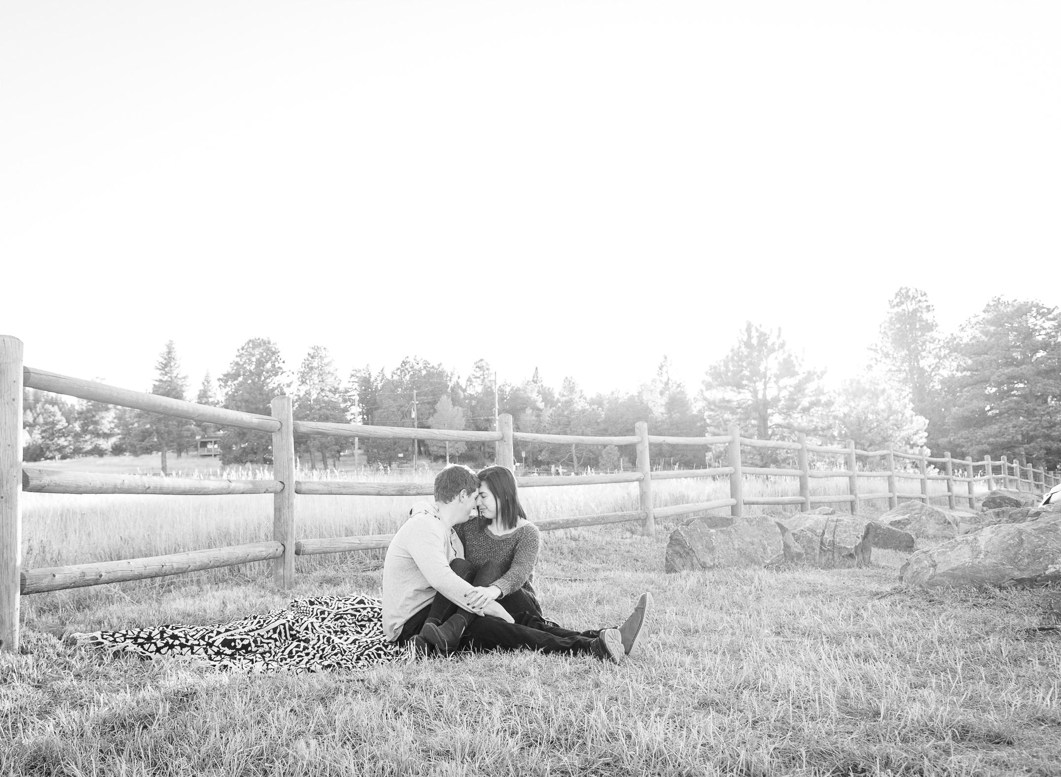 aldefer couples session black and white