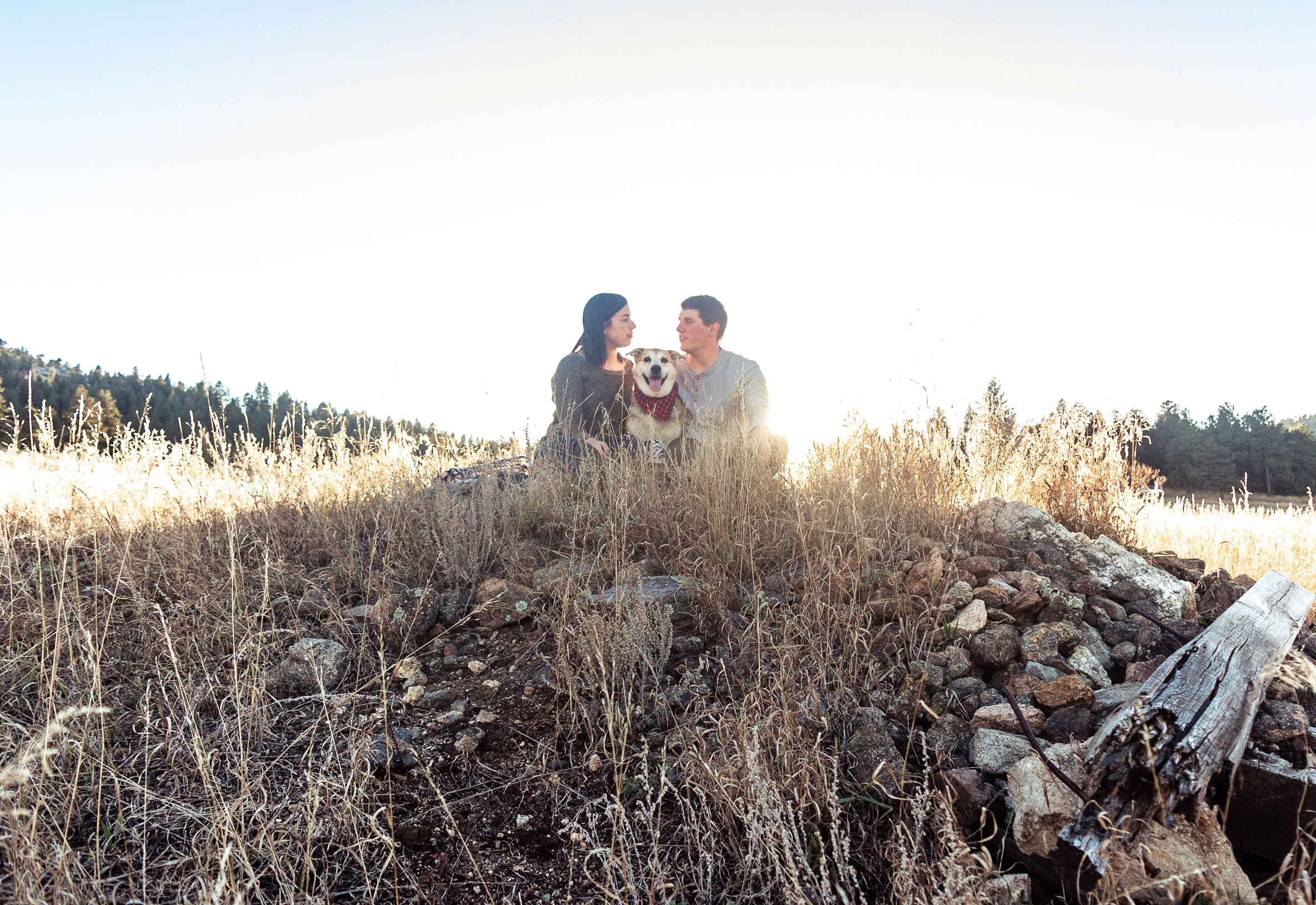 backlit couples photos