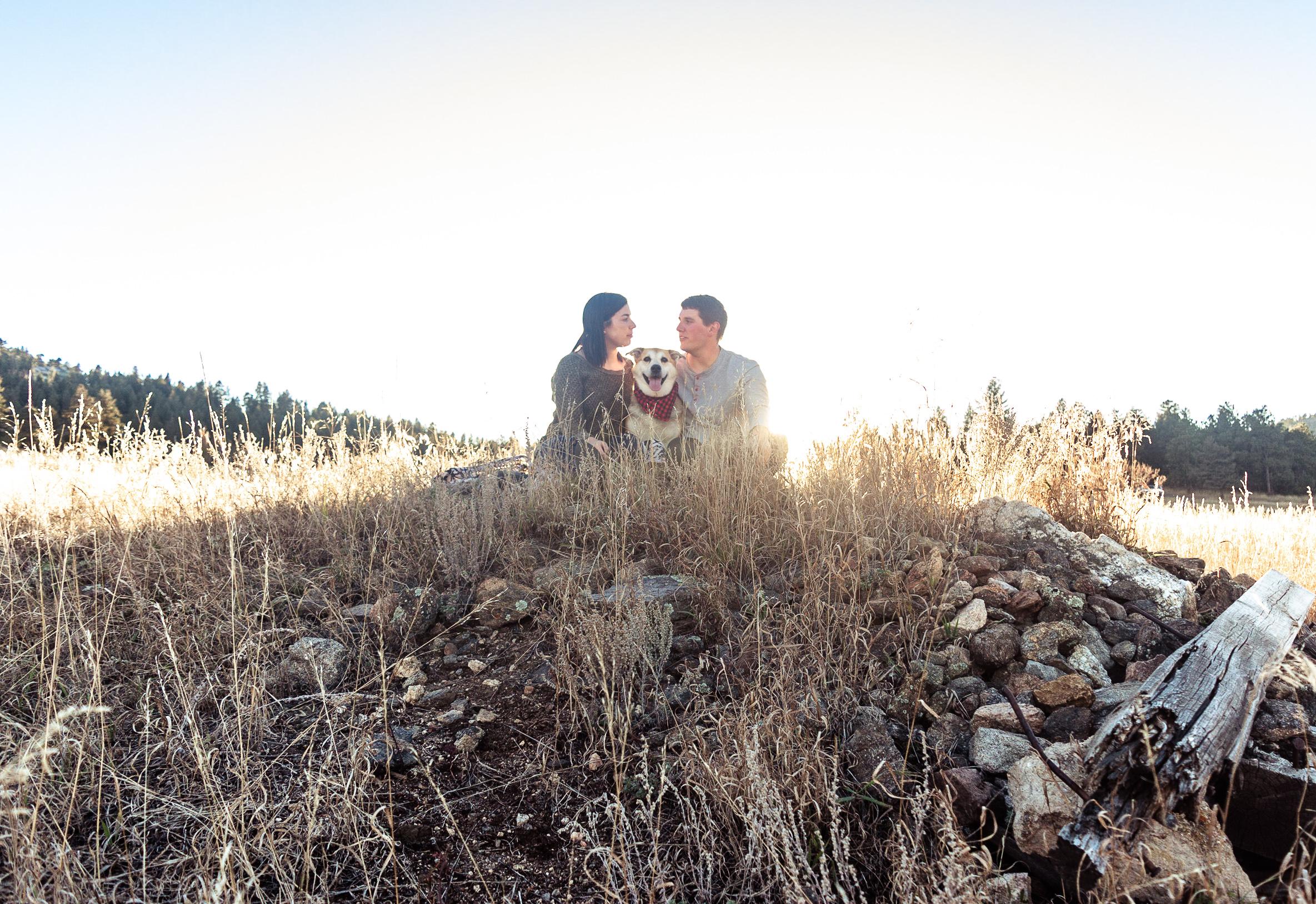 backlit couples photos