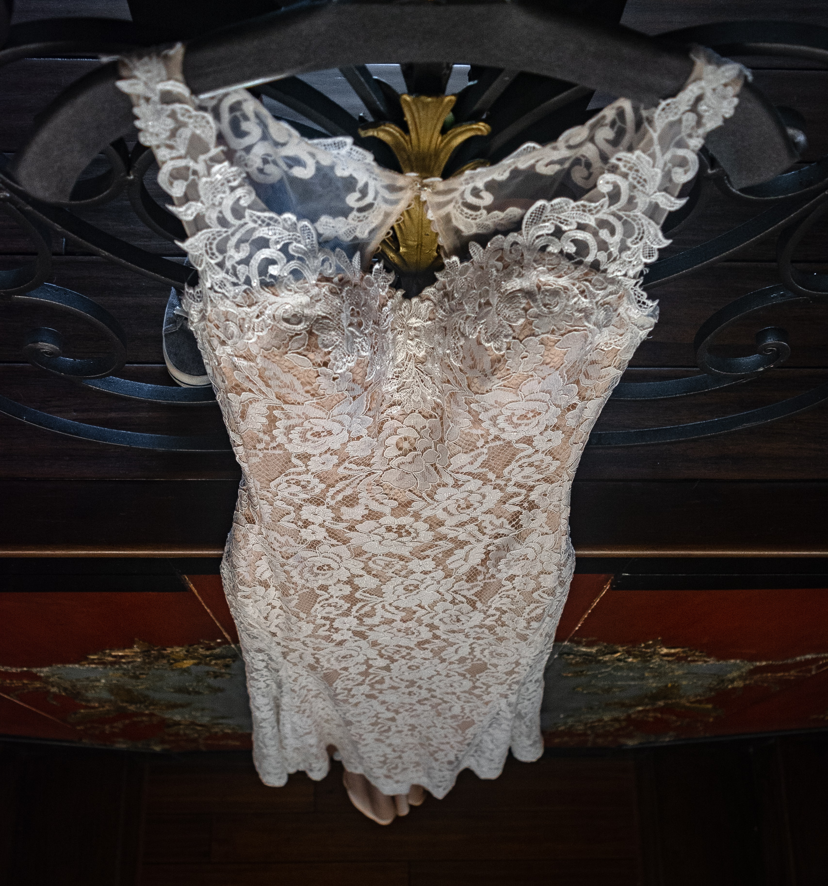 wedding gown at lionsgate event center