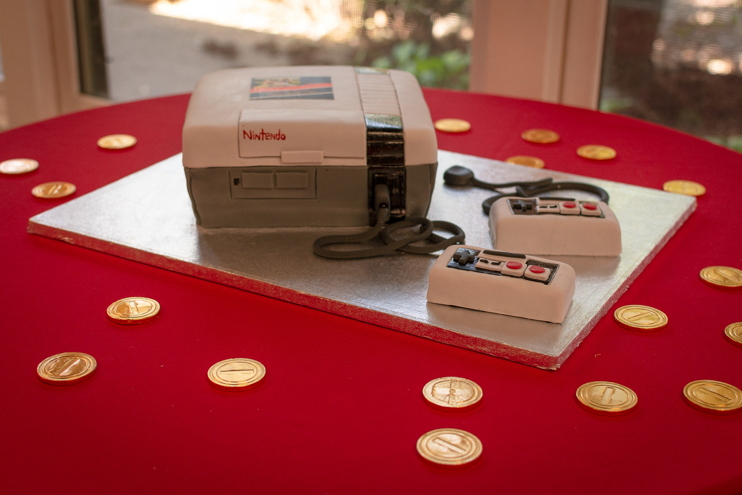 nintendo groom's cake