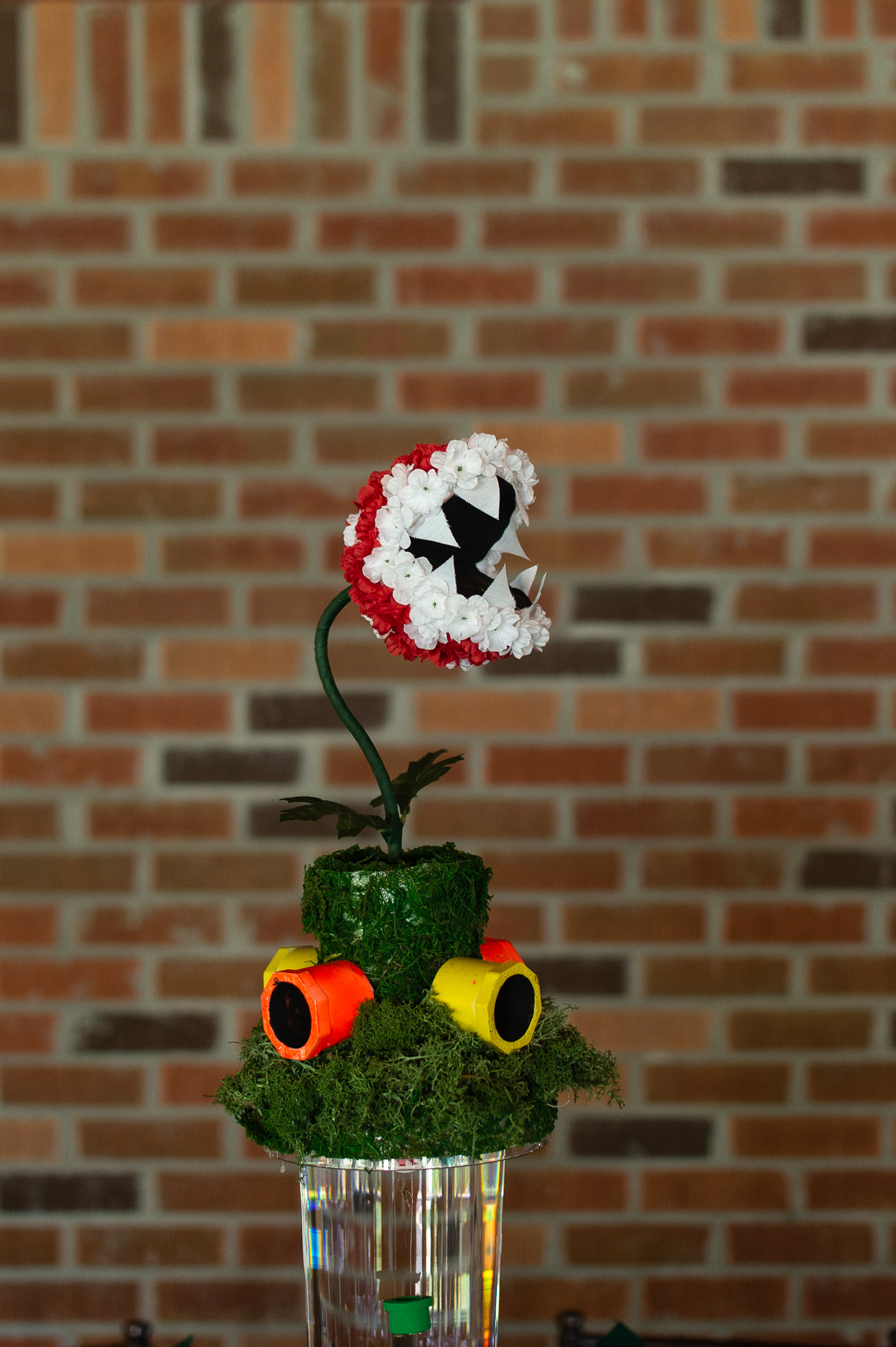 super mario themed centerpiece