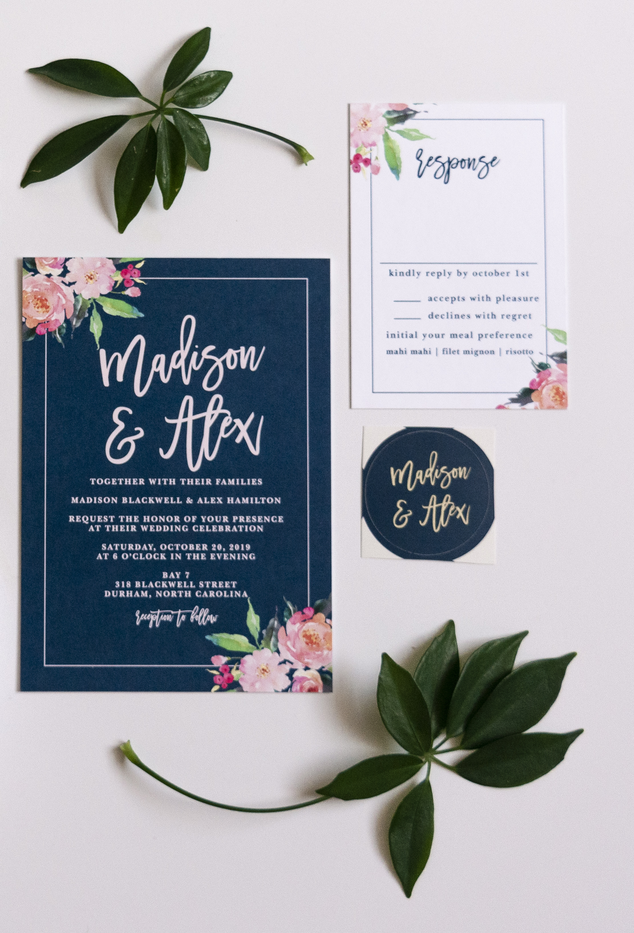 Custom Wedding Invitation Sets