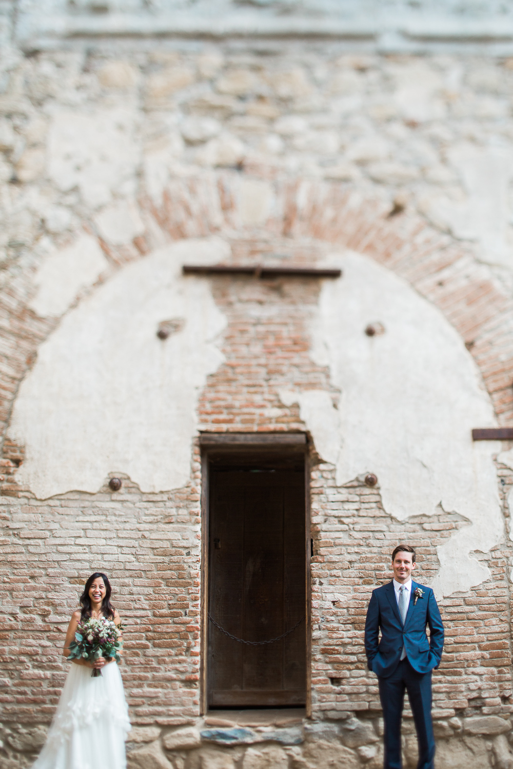 Epic San Juan Capistrano historic spanish mission wedding photos Tyler Rye Photography