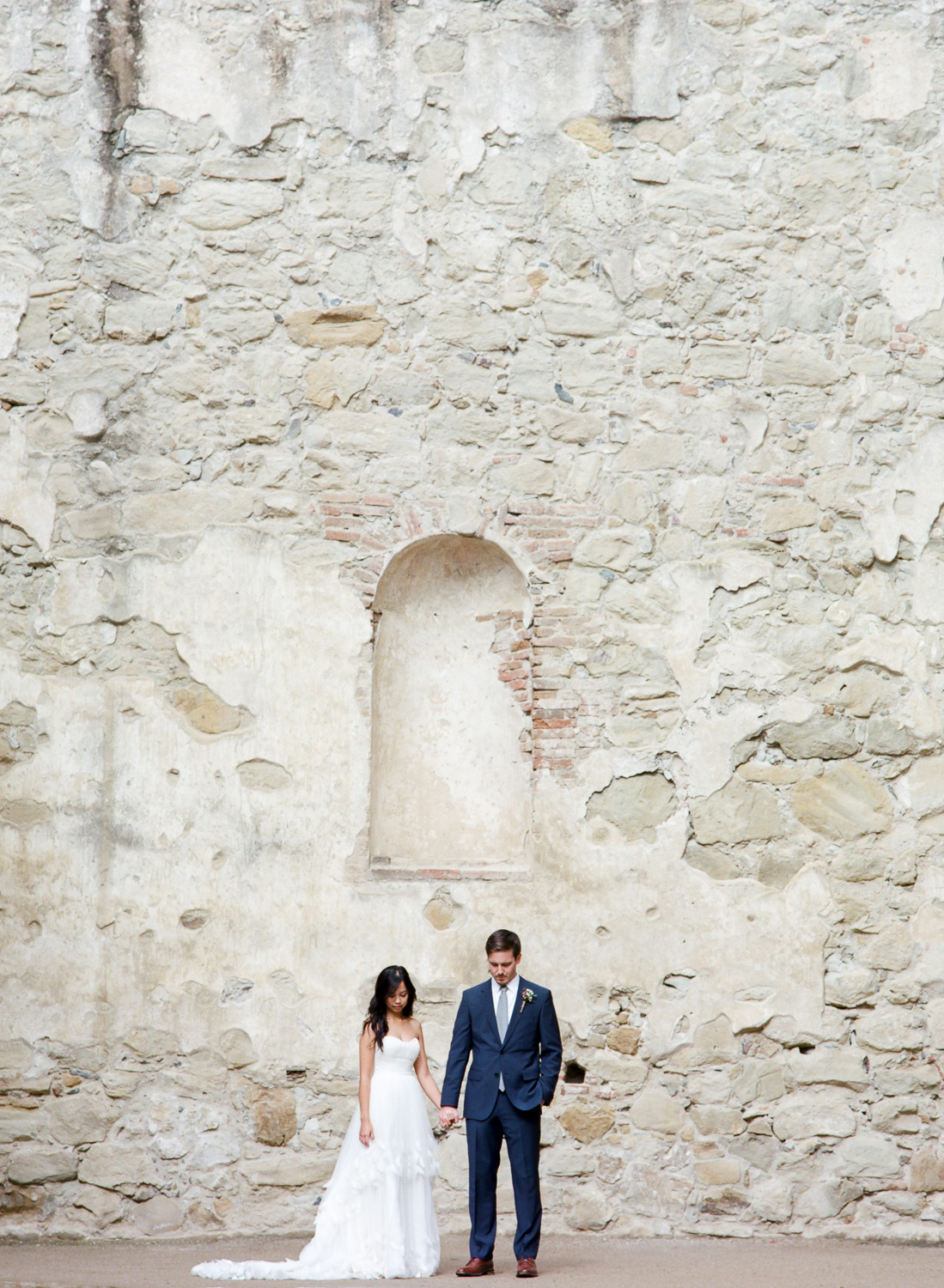 Historic California ruins wedding pictures Tyler Rye Photography