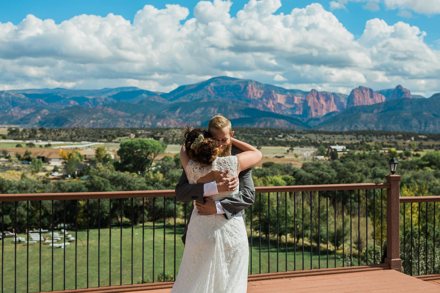 Kolob terrace zion national park wedding