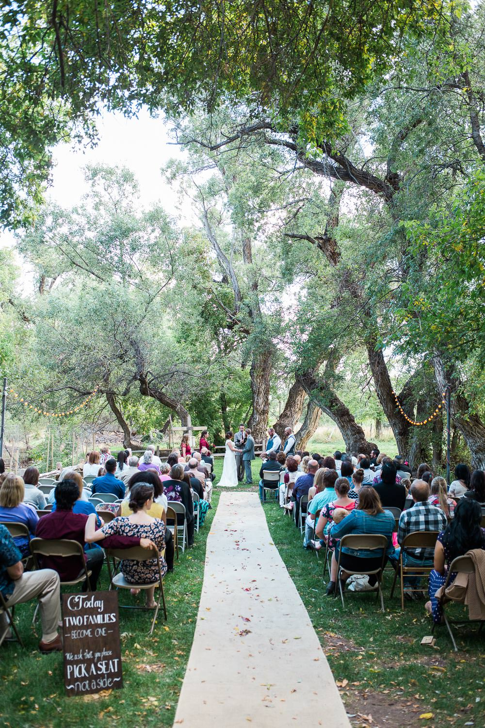 utah mountain meadow forest ceremony
