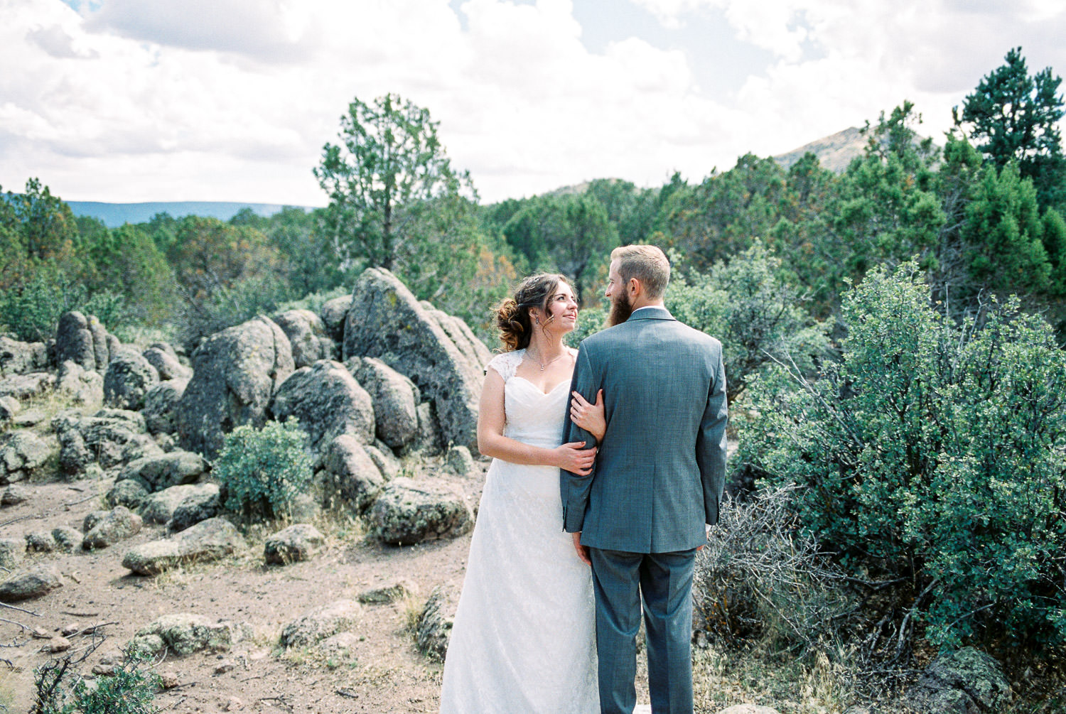 Joshua Tree National Park Wedding photography fine art film Fuji 400H